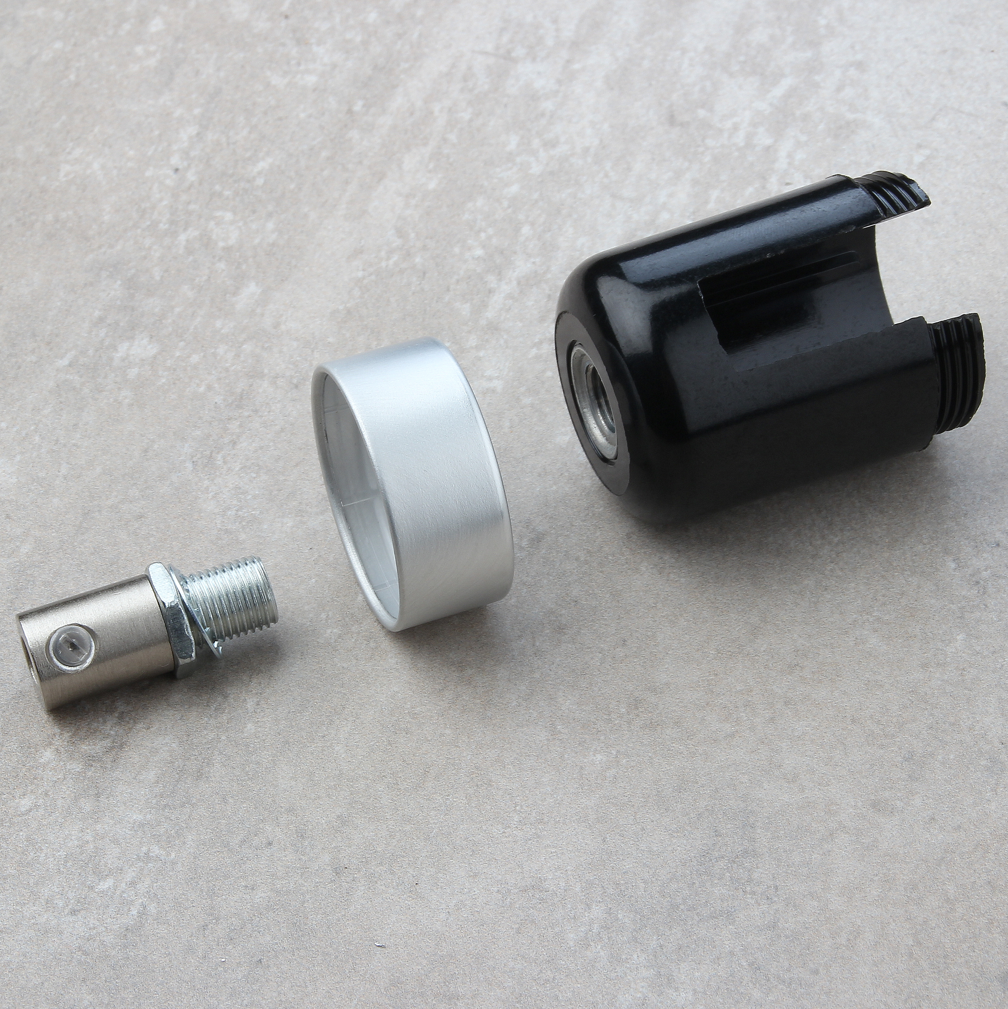 flaschenlampe textilkabel selber bauen 5 diy lampenbau. Black Bedroom Furniture Sets. Home Design Ideas